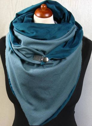 Casual Color Block Scarves (109973770)