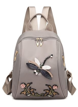 Backpacks Fashion Zipper Adjustable Bags (4073865)