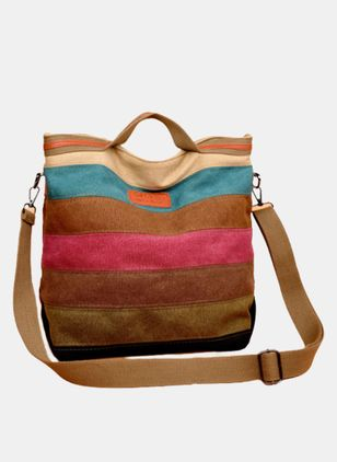 Shoulder Color Block Adjustable Bags (4048157)