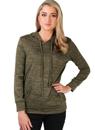 Solid Sporty Cotton Hooded Sweatshirts