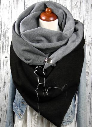 Casual Animal Scarves (146854222)