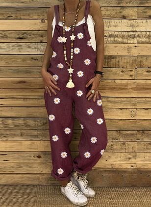 Women's Loose Jumpsuits (4135445)