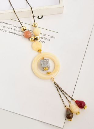 Casual Ball Crystal Pendant Necklaces (147242611)