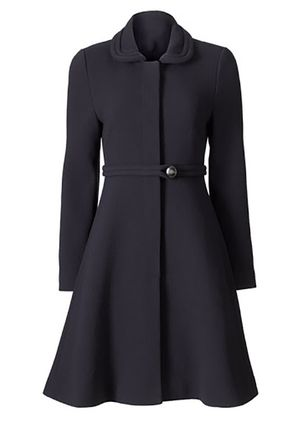 Long Sleeve Collar Sashes Buttons Coats (146740192)