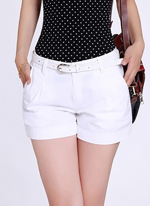 Loose Cotton Shorts Pants & Leggings