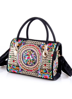 Shoulder Tote Print Adjustable Double Handle Bags
