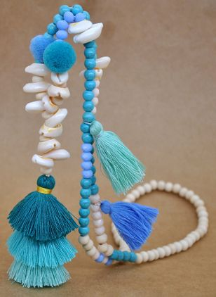 Casual Tassel No Stone Without Pendant Necklaces (4041318)
