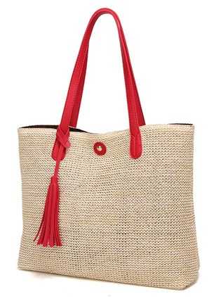Tote Vintage Tassel Double Handle Bags (1540386)