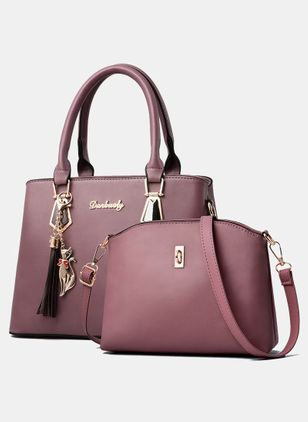 Bag Sets Fashion Zipper Tassel Double Handle Bags (107563161)