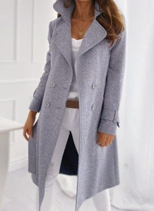 Long Sleeve Coats (106586832)