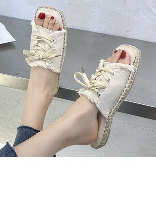 Denim Shoes With Lace-up (6046958)