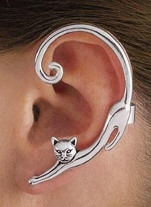 Sexy Animal No Stone Stud Earrings (1543028)