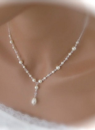 Pearls Pendant Necklaces