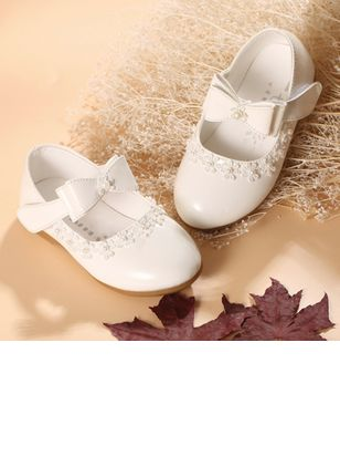 Girls' Bowknot Pearl Party & Evening Girls' Shoes