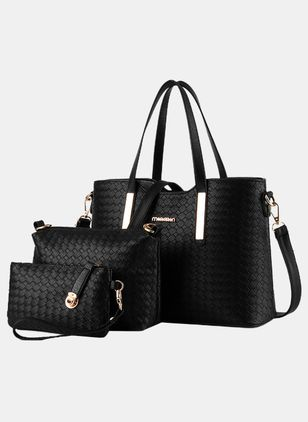 Tote Fashion Zipper Double Handle Bags (4048184)