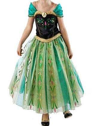 Girls' Halloween Floral Daily Cap Sleeve Clothing Sets (112236655)