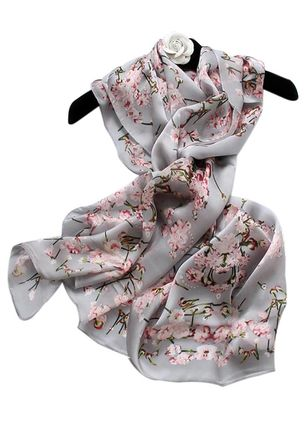 Casual Floral Scarves