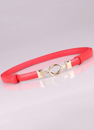 Elegant Metal Solid Belts