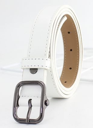 Casual Metal Solid Belts (4126779)