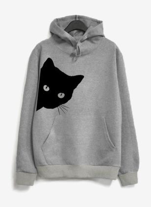 Djur Casual Hooded Sweatshirtar