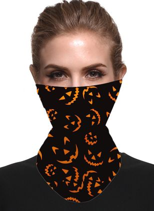 Halloween Color Block Scarves (108857939)