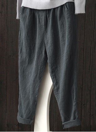 Bootcut Cotton Pants Pants & Leggings (1104331)