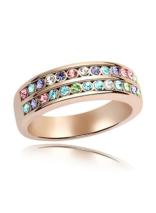 Gemstone Rings Single