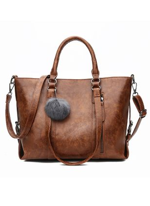 Shoulder Tote Fashion Double Handle Bags