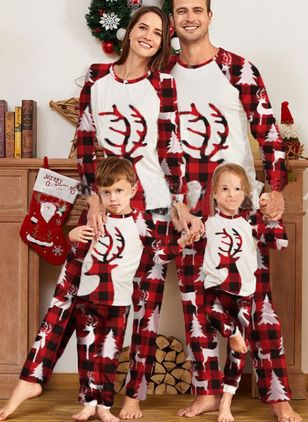 Family Look Animal Christmas Long Sleeve Family Outfits (146775855)
