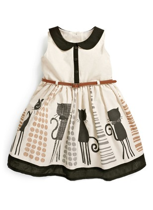 Girls' Cartoon Daily Sleeveless Dresses