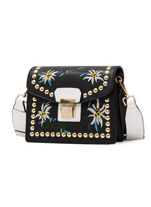 Shoulder Fashion PU Print Adjustable Bags