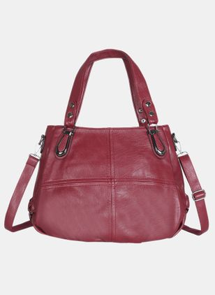 Shoulder Vintage Zipper Double Handle Bags (4339065)