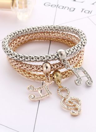 Club Crystal Bangle Bracelets (2201400)