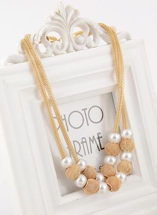 Party Ball Pendant Necklaces (1542370)