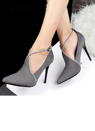 Closed Toe Stiletto Heel Shoes