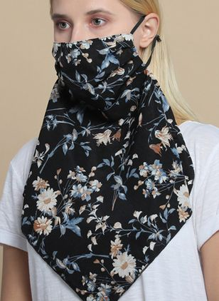 Casual Floral Scarves (4073925)
