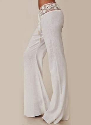 Loose Cotton Blends Pants Pants & Leggings