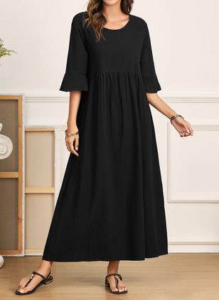 Robes Casual Neutre 1/2 manches Maxi (1541916)