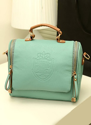 Shoulder Fashion PU Zipper Adjustable Bags