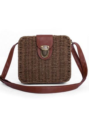 Shoulder Vintage Double Handle Bags (104135117)