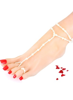 Pearls Ball Round Anklet