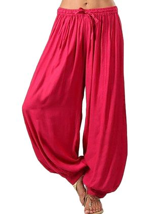 Women's Casual Polyester Yoga Bottoms Fitness & Yoga (4363115)