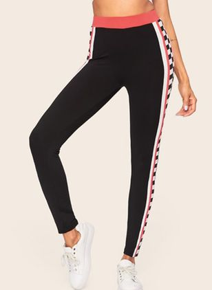 Women's Sporty Polyester Yoga Bottoms Fitness & Yoga (4047406)