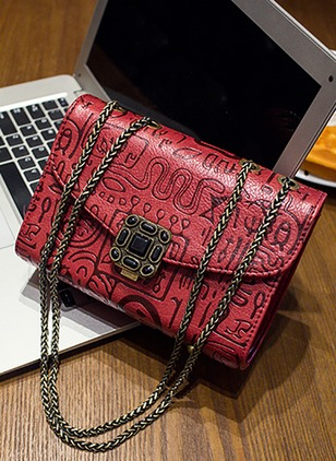 Shoulder Fashion PU Chain Bags