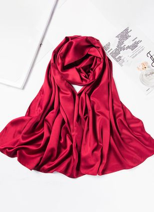 Casual Solid Scarves (147077428)