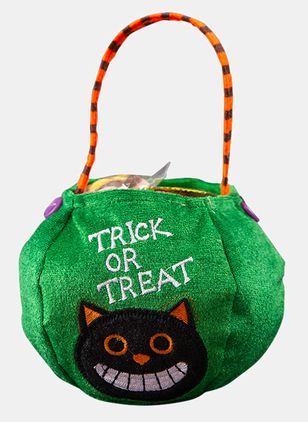 Tote Halloween Print Double Handle Bags (111608172)