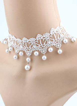 Sexy Ball Round Pearls Chokers (4135035)