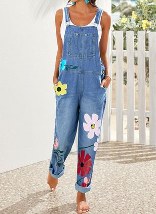 Denim Pants (4457996)