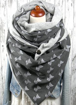 Casual Animal Scarves (109973753)