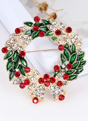 Floral No Stone Brooches (146712887)